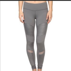 ALO Yoga Cadet Grey Moto Legging